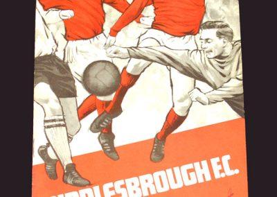 Middlesbrough v Carlisle 24.08.1968
