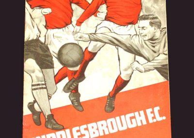 Middlesbrough v Charlton 28.09.1968