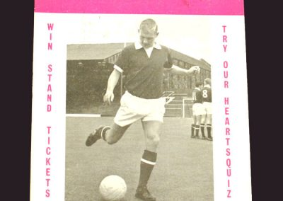 Hearts v Middlesbrough 21.10.1968 (Friendly)