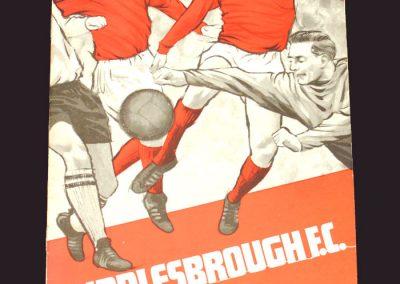 Middlesbrough v Bristol City 02.11.1968 (postponed)