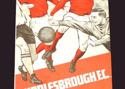 Middlesbrough v Bolton 16.11.1968