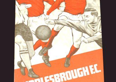 Middlesbrough v Blackburn 30.11.1968