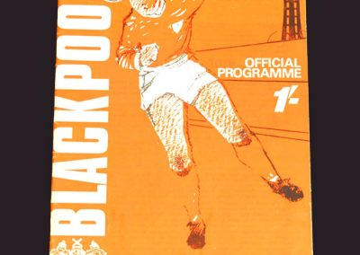 Blackpool v Middlesbrough 07.12.1968