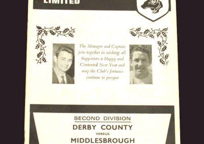 Derby v Middlesbrough 26.12.1968