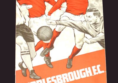 Middlesbrough v Millwall 04.01.1969 - FA Cup 2nd Round