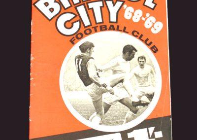 Bristol City v Middlesbrough 11.01.1969