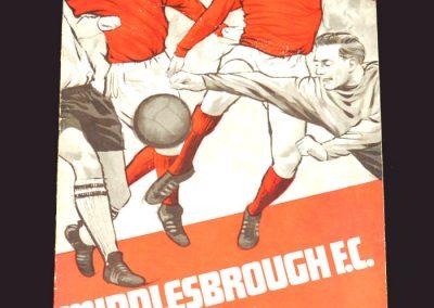 Middlesbrough v Oxford United 24.01.1969