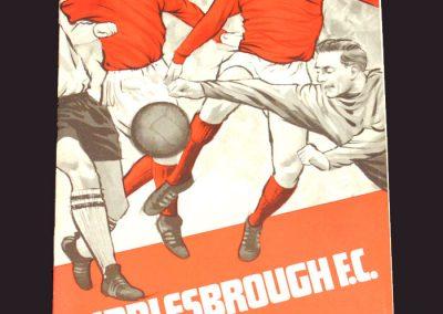 Middlesbrough v Blackpool 22.02.1969
