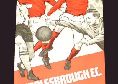 Middlesbrough v Portsmouth 08.03.1969