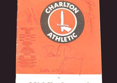 Charlton v Middlesbrough 05.04.1969