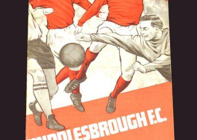 Middlesbrough v Bury 12.04.1969