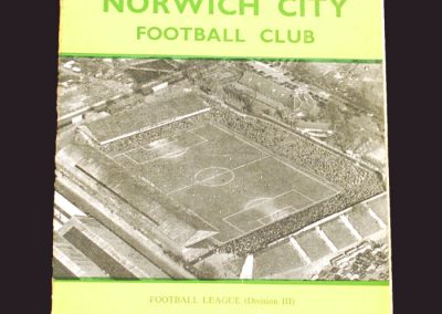 Norwich v Reading 26.12.1958