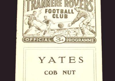 Tranmere v Reading 07.02.1959