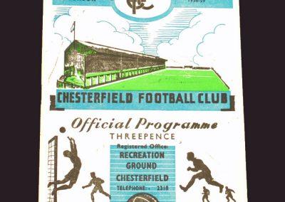 Chesterfield v Reading 25.04.1959