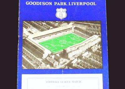 Everton v Wolves 24.08.1957
