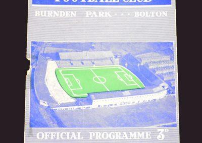 Bolton v Wolves 04.09.1957