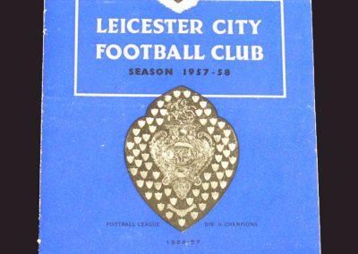 Leicester v Wolves 21.09.1957