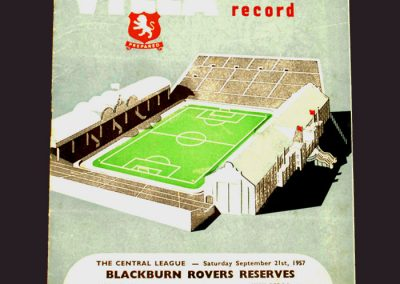 Aston Villa v Wolves 23.09.1957
