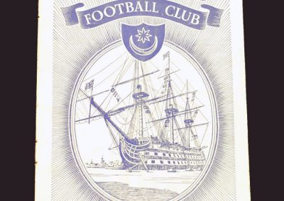 Portsmouth v Wolves 09.11.1957