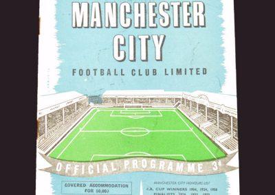 Man City v Wolves 23.11.1957
