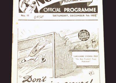 Preston v Wolves 07.12.1957