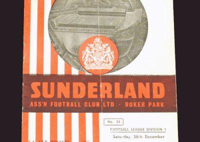 Sunderland v Wolves 28.12.1957