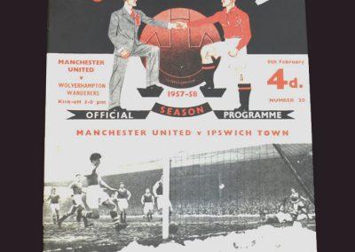 Man Utd v Wolves 08.02.1958 (postponed)