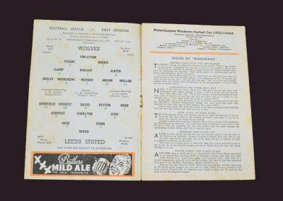 Wolves v Leeds 19.02.1958