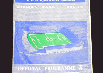 Bolton v Wolves 01.03.1958 - FA Cup 6th Round