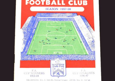 Burnley v Wolves 12.04.1958