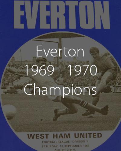 Everton 1969 1970 Champions