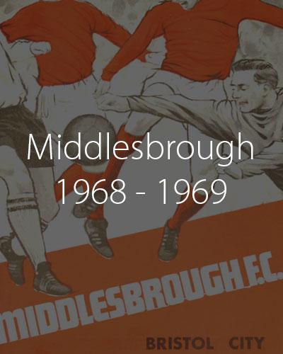 Middlesbrough 1968 1969 season